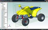 DOWNLOAD Solid Model of Quad Vehicle
